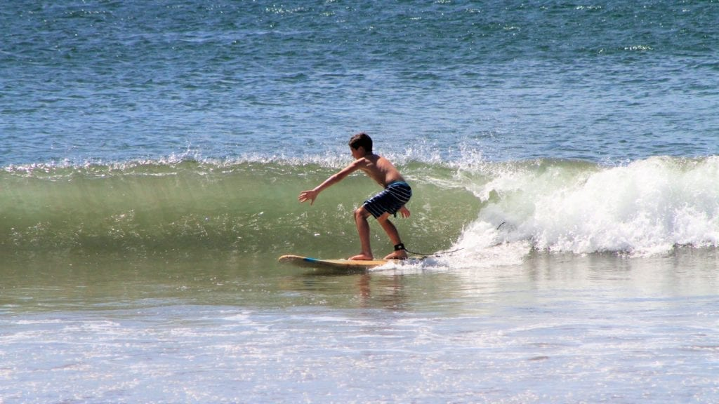 Beginner Surf Lessons. Little Surfers.